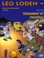 Couverture Léo Loden, tome 10 : Testament et figatelli Editions Soleil 1997