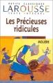 Couverture Les Précieuses ridicules Editions Larousse (Petits classiques) 1998