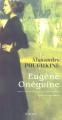 Couverture Eugène Onéguine Editions Actes Sud 2005