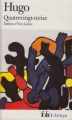 Couverture Quatrevingt-treize Editions Folio  (Classique) 2001