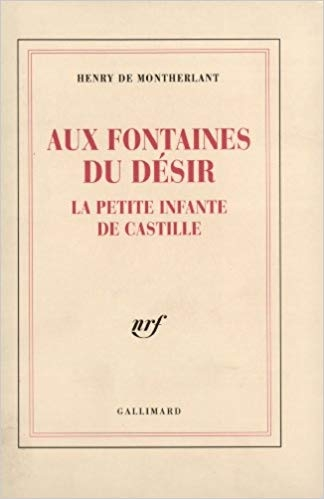 Couverture Aux Fontaines du désir : La Petite Infante de Castille