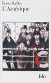 Couverture L'Amérique / Amerika ou Le disparu Editions Folio  1973
