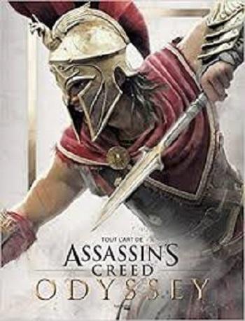 Couverture Tout l'art de Assassin's Creed Odyssey