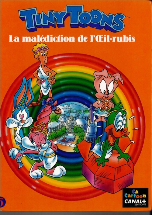 Couverture Tiny toons, tome 6 : La malédiction de l'Œil-rubis