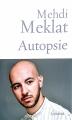 Couverture Autopsie Editions Grasset 2018