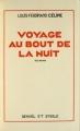 Couverture Voyage au bout de la nuit Editions Denoël 1932
