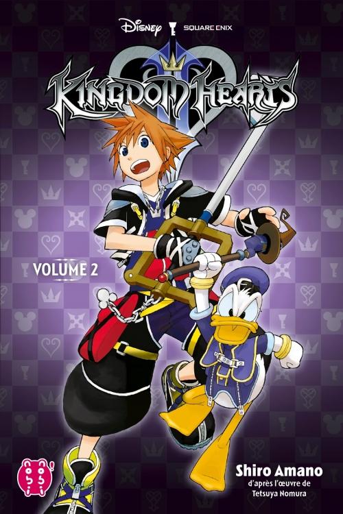 Couverture Kingdom Hearts II, intégrale, tome 2