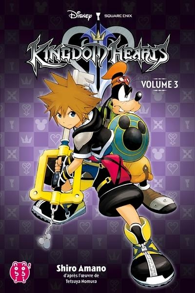 Couverture Kingdom Hearts II, intégrale, tome 3