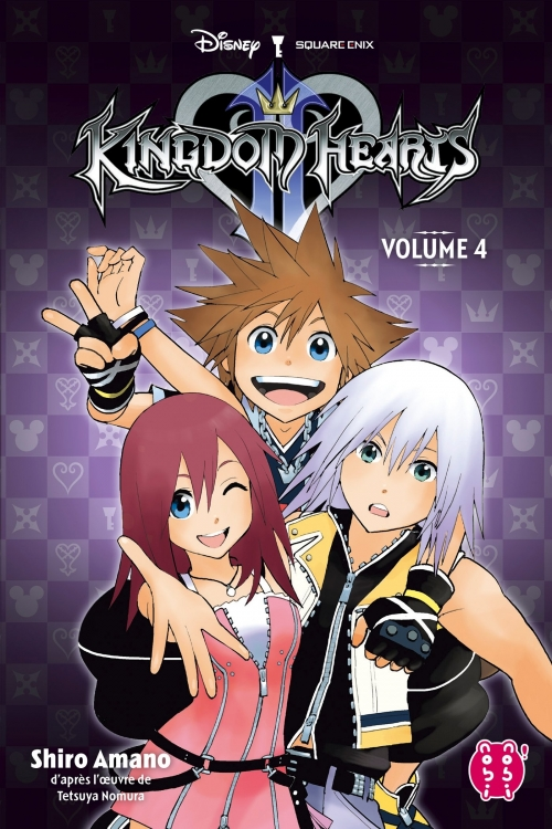 Couverture Kingdom Hearts II, intégrale, tome 4