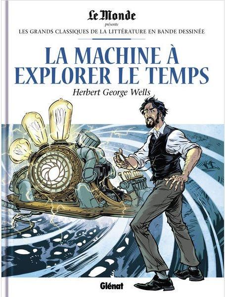Couverture La machine à explorer le temps (BD)