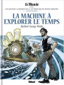 Couverture La machine à explorer le temps (BD) Editions Glénat 2018