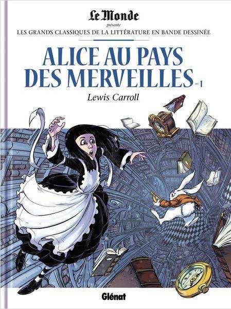 Couverture Alice au pays des merveilles (BD), tome 1