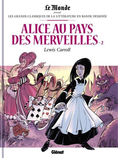 Couverture Alice au pays des merveilles (BD), tome 2