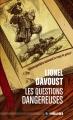 Couverture Les Questions dangereuses Editions ActuSF (Hélios) 2019