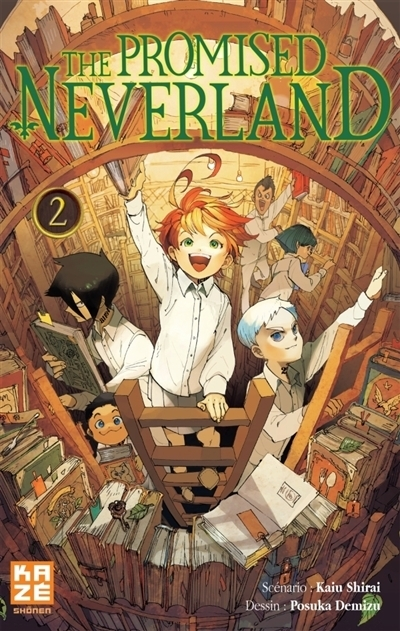 Couverture The promised neverland, tome 02