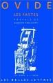 Couverture Les Fastes Editions Les belles lettres (La roue à livres) 1990