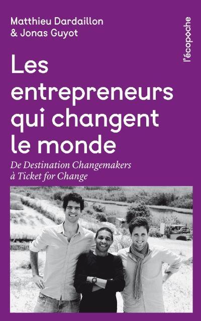 Couverture Les entrepreneurs qui changent le monde