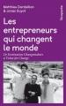 Couverture Les entrepreneurs qui changent le monde Editions Rue de l'échiquier 2017