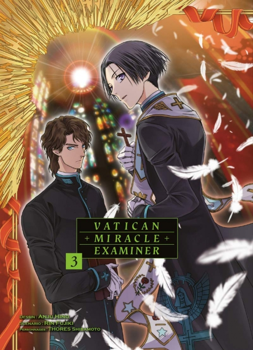 Couverture Vatican miracle examiner, tome 3