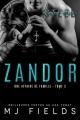 Couverture Une affaire de famille, tome 3 : Zandor Editions Juno publishing 2019
