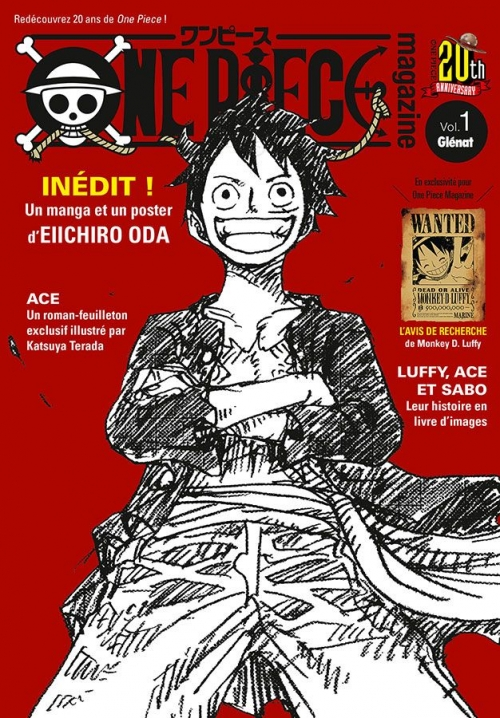 Couverture One Piece Magazine, tome 1