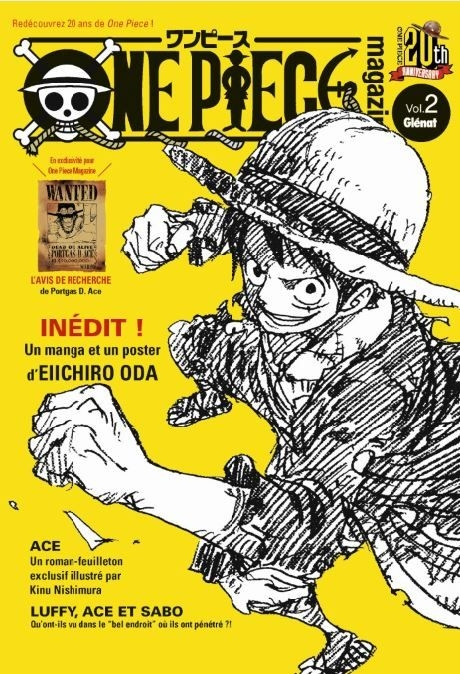 Couverture One Piece Magazine, tome 2