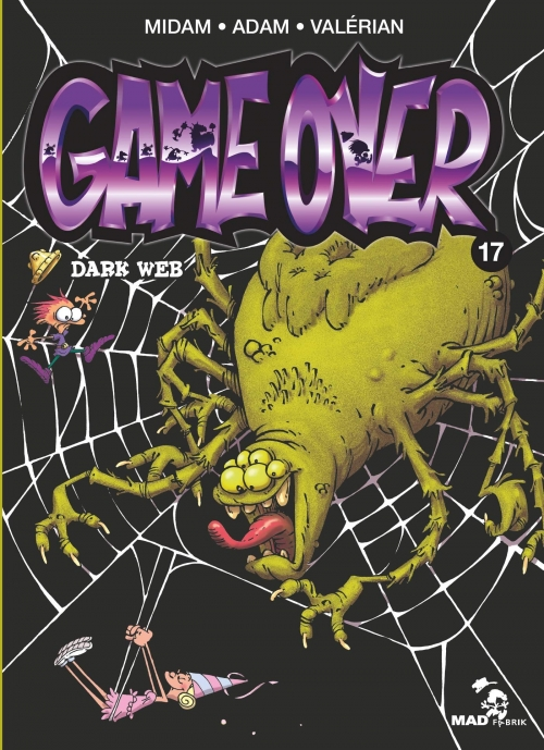 Couverture Game over, tome 17 : Dark Web