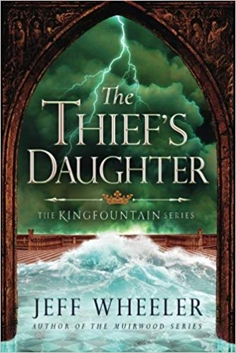 Couverture Kingfountain, book 2: The Thief's Daughter