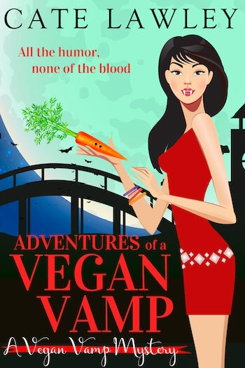Couverture Vegan Vamp Mysteries, book 1: Adventures of a Vegan Vamp