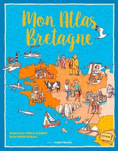 Couverture Mon Atlas Bretagne