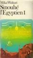 Couverture Sinouhé l'égyptien, tome 1 Editions Folio  1983