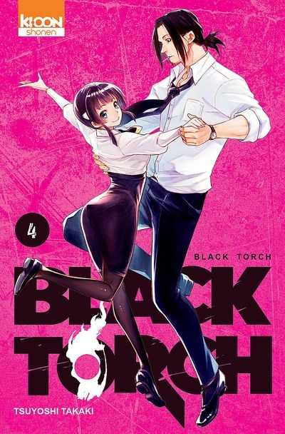 Couverture Black Torch, tome 4