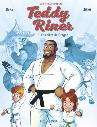 Couverture Les aventures de Teddy Riner, tome 1 : La colère du dragon