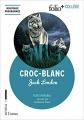 Couverture Croc-Blanc / Croc Blanc Editions Folio  (+ Collège) 2019