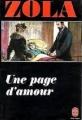 Couverture Une page d'amour Editions Le Livre de Poche 1979