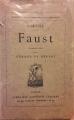 Couverture Faust Editions Librairie Alphonse Lemerre 1828