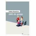 Couverture Délit de gosse Editions du Rouergue (La Brune) 2019