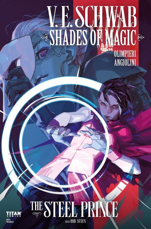 Couverture Shades of Magic: The Steel Prince, book 1, part 3