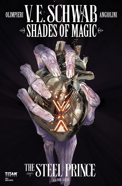 Couverture Shades of Magic: The Steel Prince, book 1, part 4
