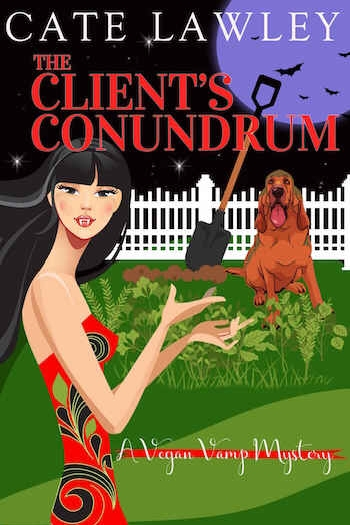 Couverture Vegan Vamp Mysteries, book 2: The Client's Conundrum