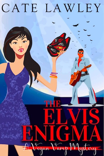 Couverture Vegan Vamp Mysteries, book 3: The Elvis Enigma