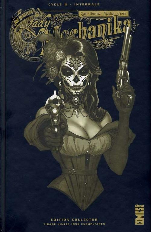 Couverture Lady Mechanika, intégrale, tome 3