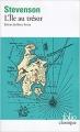 Couverture L'île au trésor Editions Folio  (Classique) 2018