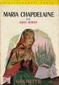 Couverture Maria Chapdelaine Editions Hachette (Bibliothèque verte) 1961