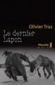 Couverture Le dernier lapon Editions Métailié (Noir) 2012