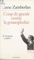 Couverture Coup de gueule contre la grossophobie Editions Ramsay 1994