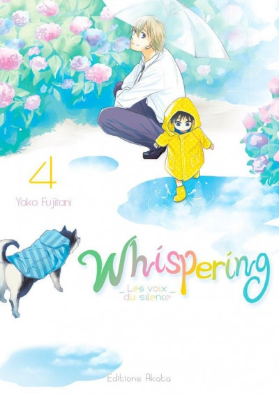 Couverture Whispering : Les voix du silence, tome 4