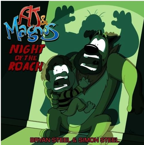 Couverture AJ & Magnus: Night of The Roach