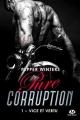 Couverture Pure corruption, tome 1 : Vice et vertu Editions Milady (New Adult) 2019