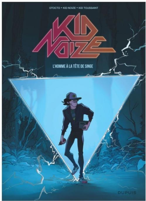 Couverture Kid Noize , tome 1 : L'homme à la tête de singe
